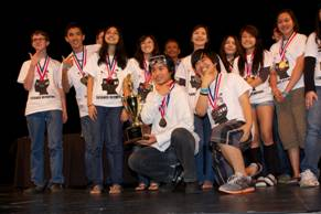 Central Oahu District Science and Engineering Fair winners