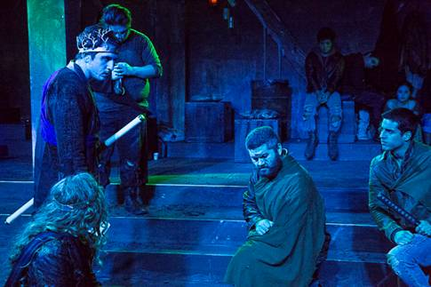 Photo from Scenes from Titus Andronicus performance