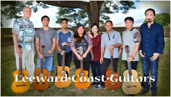 Leeward Cost Guitars group photo