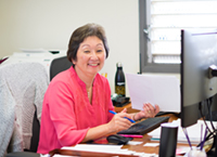 Suzette Robinson in office