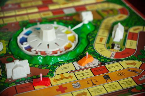 """The board game, """"Life"""""""