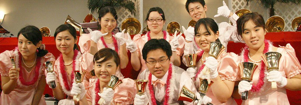 Handbell Choir members