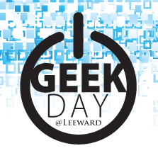 Leeward Geek Day logo