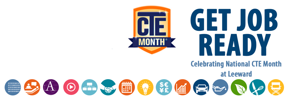CTE Month, icons of various programs