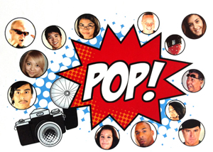 POP advertisement graphic