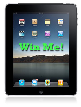 image of ipad prize
