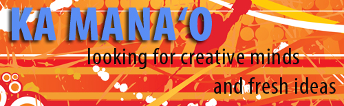 k manao advertisement: looking for creative minds