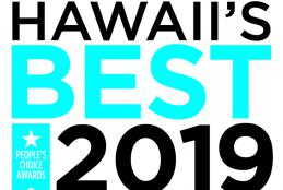 Hawaii's Best logo, first place by the Honolulu Star Advertiser