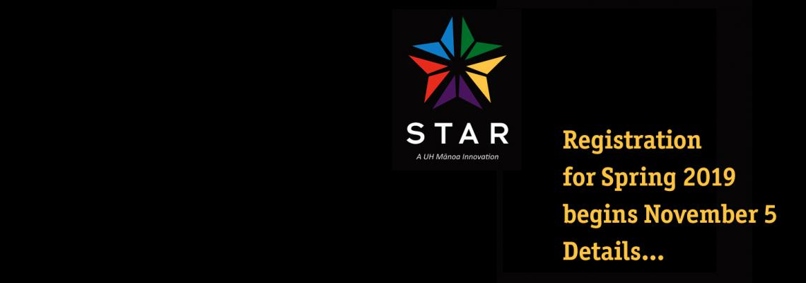 STAR logo with text reading,